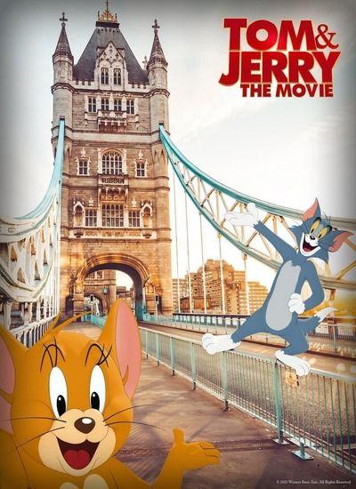 دانلود انیمیشن Tom and Jerry تام و جری 2021 با زیرنویس فارسی