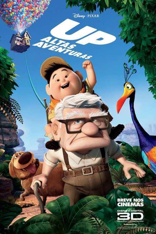 دانلود انیمیشن Up بالا 2009 با زیرنویس فارسی