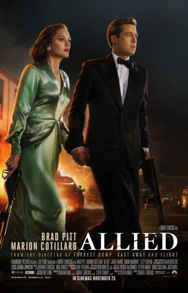 دانلود فیلم Allied هم پیمان 2016 با زیرنویس فارسی