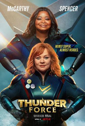 دانلود فیلم Thunder Force نیروی تندر 2021 با زیرنویس فارسی