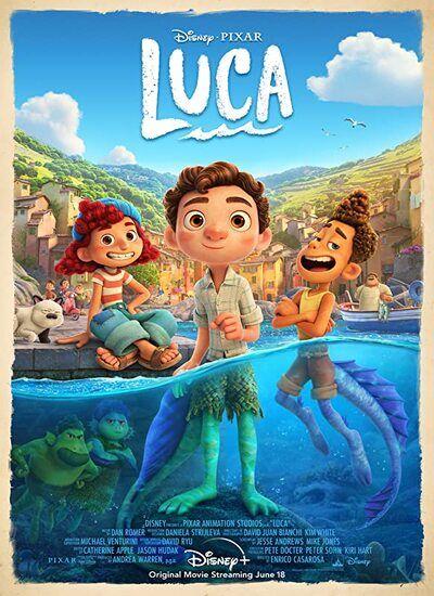 دانلود انیمیشن لوکا Luca 2021 با زیرنویس فارسی