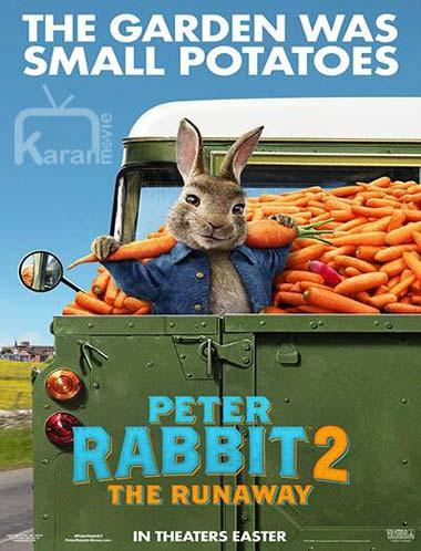 دانلود انیمیشن پیتر خرگوشه ۲❤️ Peter Rabbit 2: The Runaway 2021 با زیرنویس فارسی