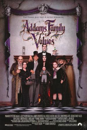 دانلود فیلم ارزش های خانواده آدامز Addams Family Values 1993 با زیرنویس فارسی