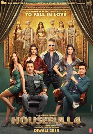 دانلود فیلم هندی خانه شلوغ Housefull 4 2019 با زیرنویس فارسی