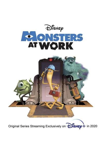 دانلود انیمیشن سریالی هیولاها در محل کار Monsters at Work 2021 با زیرنویس فارسی