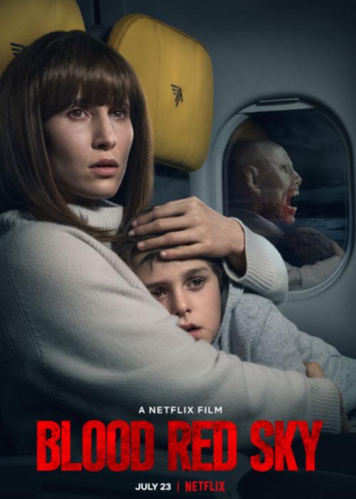 دانلود فیلم آسمان سرخ خونین Blood Red Sky 2021 با زیرنویس فارسی